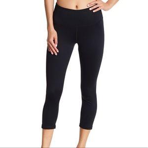 C9 CHAMPION Black Crop Zipper Ankle Workout Leggings